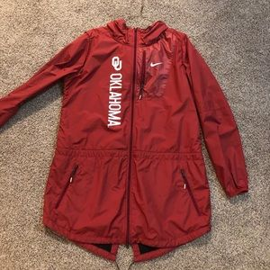 Oklahoma Sooners, NIKE raincoat/windbreaker